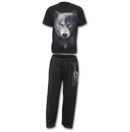 4pc Mens Gothic Pyjama Set