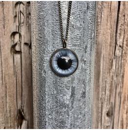 Blue Cerberus Necklace