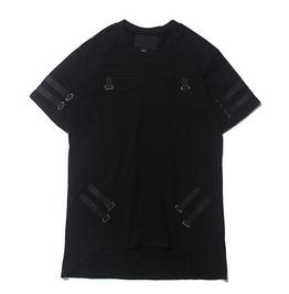 Men's Belt Strap Bondage T Shirt
