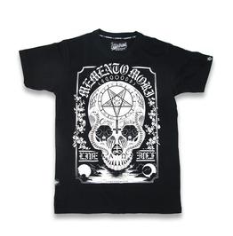 Men's Memento Mori Graphic Baphomet T Shirt