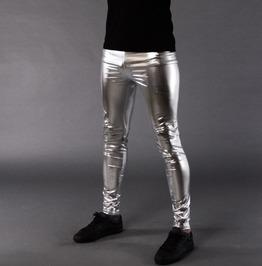 Men's Silver Meggings