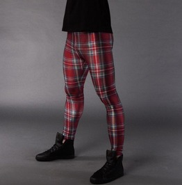 Men's Tartan Meggings
