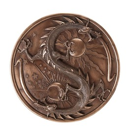 V10724 Double Dragon Alchemy Plaque