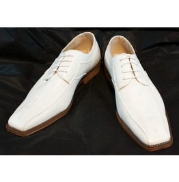Handmade Men White Dress Shoes, Men White Party Shoes, Men Leather Shoes
