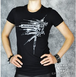Cryoflesh Syringe Medicated Cyber Top Shirt Female