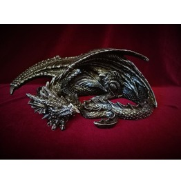 Sleeping Dragon Statue