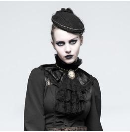 Punk Rave Women's Steampunk Rivets Ruffles Lace Necktie/Neckwear S225