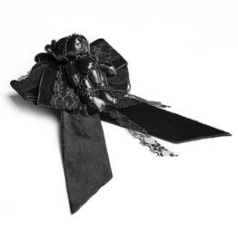 Punk Rave Women's Lolita Gloomy Bear Lace Flower Brooch Ls048
