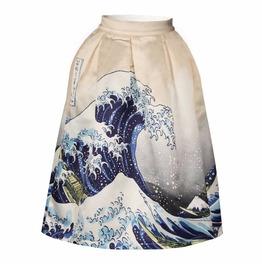 Rebelsmarket kanagawa wave skirt falda ola jap n wh395 skirts 5