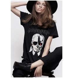 Women T Shirts Short Sleeve Zombie Skull Head Loose Tops Casual Tank Blouse