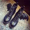 Rebelsmarket devil wings boots botas alas demonio wh398 boots 10