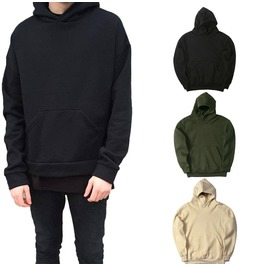 New Fashion Mens Hoodies Oversized Hip Hop Hooded Sweatshirt