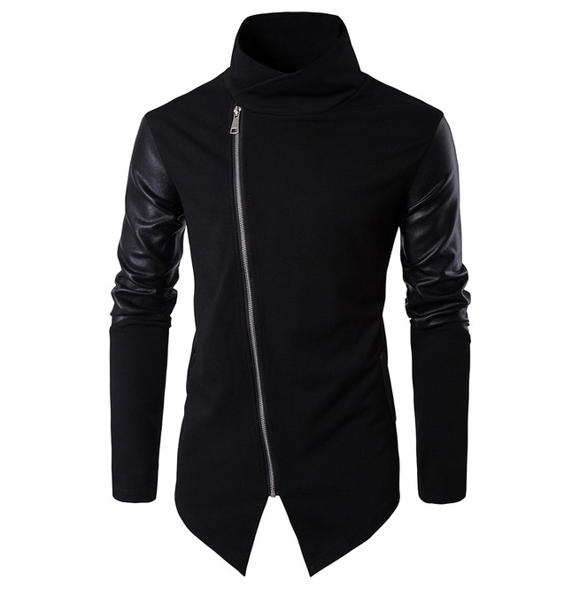 rebelsmarket_mens_stand_collar_faux_leather_sleeve_slim_fitted_knitted_jacket_jackets_6.jpg