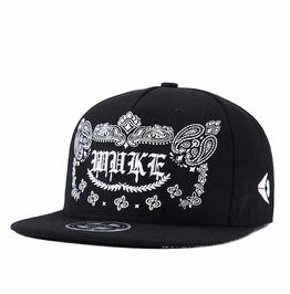 Punk Fashion Hip Hop Dancer Snapback Hat Flat,Unisex Peaked Baseball Caps