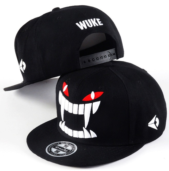 rebelsmarket_hip_hop_punk_baseball_caps_demon_fangs_snapback_flat_hat_hats_and_caps_3.jpg