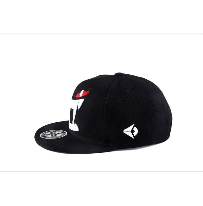 rebelsmarket_hip_hop_punk_baseball_caps_demon_fangs_snapback_flat_hat_hats_and_caps_2.jpg