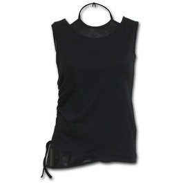2in1 Pu Leather Vest