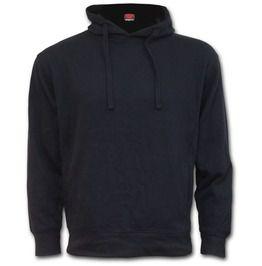 Metal Street Wear Black Side Pocket Hoodie