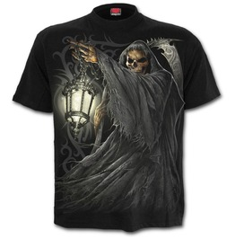 Death Lantern T Shirt Black