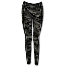 Allover Comfy Fit Leggings Black