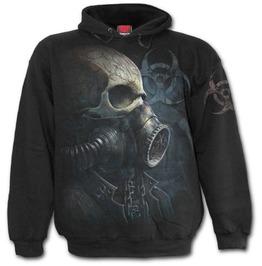 Bio Skull Hoody Black