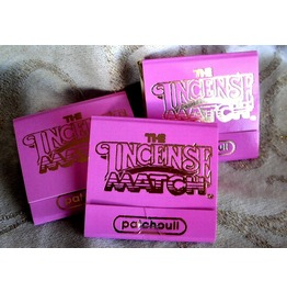 Patchouli Burst Of Scented Incense Matches Set Of 3 Match Books