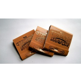 Sandlewood Burst Of Scented Incense Matches Set Of 3 Match Books