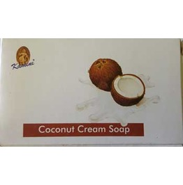 Coconut Incense Herbal Perfume Soap Bar 100g