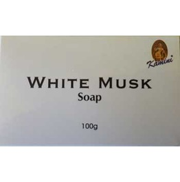 White Musk Incense Herbal Perfume Soap Bar 100g