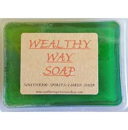 Wealthy Way Incense Herbal Perfume Soap 2.5oz