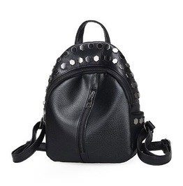 Black Rivet Pentagram Studded Mini Backpack Reality Check #Whatev