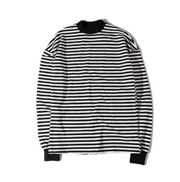 New Men's Striped Casual Long Sleeve T Shirts