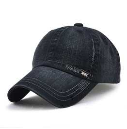 Unisex's Washed Denim Baseball Cap Hip Hop Snapback Hat