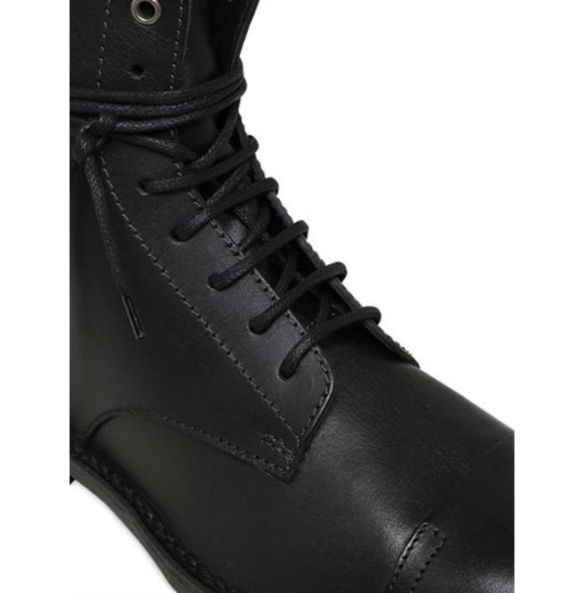 387747f81d8 Handmade Men Black Military Boots, Combat Boot, Lace Up Boot, Mens