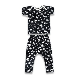 Baby Two Piece Skeleton Outfit