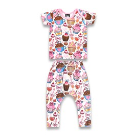 Baby Two Piece Sweet Tooth Outfit