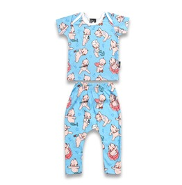 Baby Two Piece Kewpie Marine Outfit