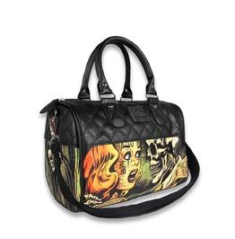 Women's Horror Overnight Bowler Purse / Handbag
