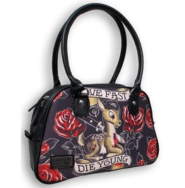 Women's Live Fast Die Young Deer Purse