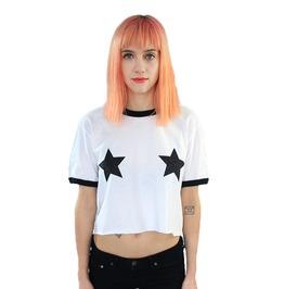 Women's Summer Star Loose Fitting T Shirt