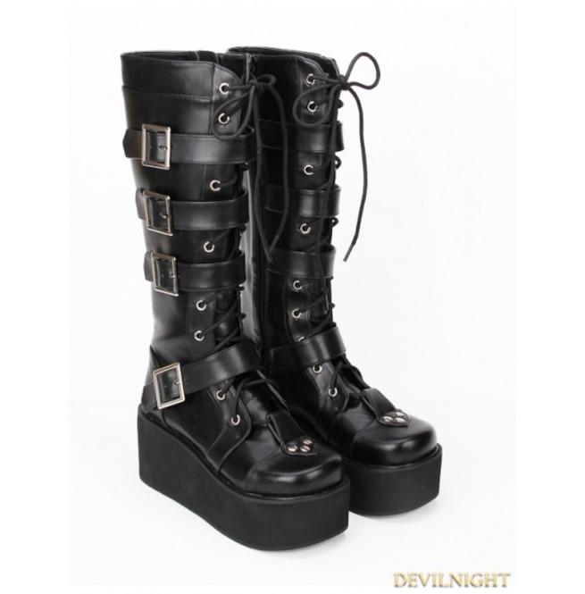 rebelsmarket_black_gothic_punk_pu_lace_up_belt_platform_knee_boots_9708_b_boots_4.jpg