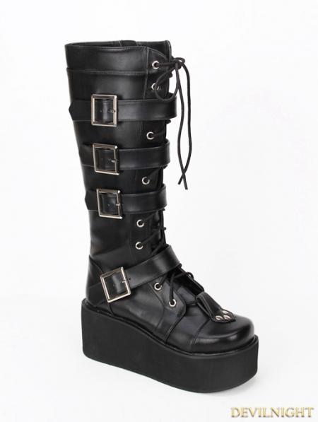 rebelsmarket_black_gothic_punk_pu_lace_up_belt_platform_knee_boots_9708_b_boots_2.jpg
