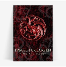 House Targaryen Game Of Thrones Inspired 11x14 Or A3 Print