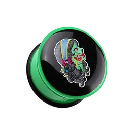 Day Of The Dead Gypsy Zombie Plug