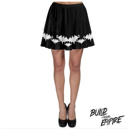 Bat Babe Skater Skirt