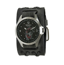Nemesis Dxb250 D Sapphire Glass Dragon Face Black Face / Grey Leather Band