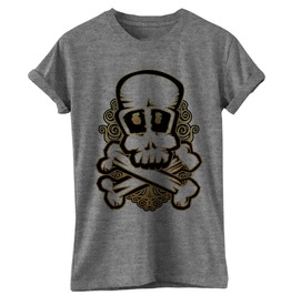 Skull Bones T Shirt Tee Death Swag Dope Hipster Cool Emo Gothic S Xl