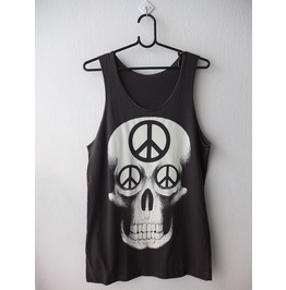 Skull Goth Pop Rock Tank Top