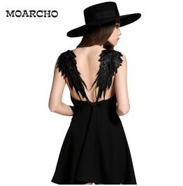 Raven Winged Dark Angel Dress