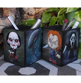 Horror Movies Pencil Holder. Four Monsters To Choose From A Wide Catalogue